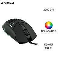 Chuột Gaming Zadez G151M Đen - Hàng chính hãng thumbnail