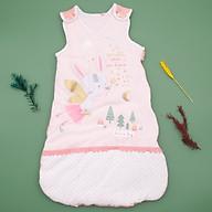 Túi ngủ 3 lỗ chất cotton lót bông ấm hình thỏ đáng yêu cho bé thumbnail
