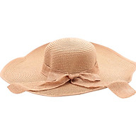 Nón Đi Biển Phối Nơ Ren NC005 (Nâu Đậm) thumbnail