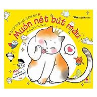 Bí Kíp Thần Sầu Vẽ Chó Mèo - Muôn Nét Bút Màu thumbnail