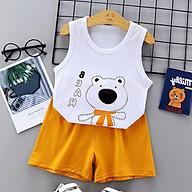 Bộ quần áo cho trẻ sơ sinh chất liệu thun cotton thoáng mát 103 thumbnail