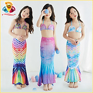 Quần áo tắm hóa trang nàng tiên cá, bikini đồ bơi đi biển cho bé gái siêu xinh E406 thumbnail