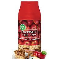 Bình xịt tinh dầu thiên nhiên Air Wick Warm Apple Crumble 250ml QT03234 - hương táo đỏ thumbnail