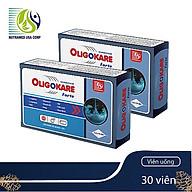COMBO 2 HỘP OLIGOKARE Forte - Viên uống tăng chất lượng tinh trùng - Hỗ trợ điều trị hiếm muộn, vô sinh ở nam giới - Nhà máy liên doanh với Medinej-USA và đạt chuẩn GMP-WHO thumbnail