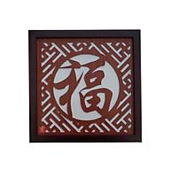 Tấm chống ám khói khung gỗ sồi mẫu phúc hán BH600 thumbnail