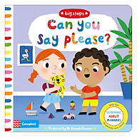 Can You Say Please Learning About Manners - Big Steps (Board book) thumbnail