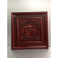 Chữ trang trí chữ Tâm gỗ hương , dành cho bàn thờ treo, bàn thờ cặp , trang trí phòng khách , trang trí phòng làm việc, hoặc bàn thờ. thumbnail