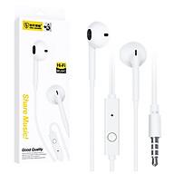 Tai nghe có dây nhét tai Viniel S11 Super Bass cho IPHONE IPAD SAMSUNG Android (trắng) - Hàng chính hãng thumbnail