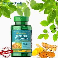 TPCN bảo vệ hệ tiêu hóa tinh chất nghệ vàng Tumeric Curcumin của Puritan s Pride thumbnail