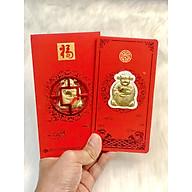 Bao lì xì Vàng Thần Tài 24k chiêu tài tấn lộc cúng Vía Thần Tài Mùng 10 thumbnail