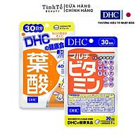 Combo viên uống bổ sung Vitamin DHC 30 ngày dành cho bà bầu (Folic acid và Multivitamin) thumbnail