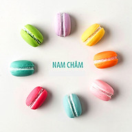 Combo 6 Nam châm hít tủ lạnh hình Bánh Macaron mô hình (Màu ngẫu nhiên) thumbnail