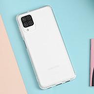 Ốp lưng dẻo trong suốt TPU loại tốt dành cho Samsung A12 thumbnail