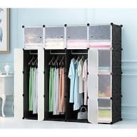 Tủ đựng quần áo ghép đa năng 16 ô thumbnail