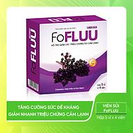 Viên uống bổ sung Vitamin C, hỗ trợ giảm nhanh cảm lạnh và giúp tăng cường sức đề kháng - ( FoFLUU) Hộp 5 vỉ x 4 viên thumbnail