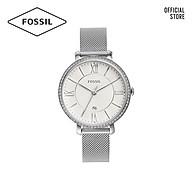 Đồng hồ nữ FOSSIL Jacqueline dây thép không gỉ ES4627 - màu bạc thumbnail