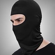 Khăn trùm đầu Ninja Fullface (Màu đen) thumbnail