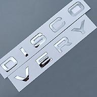 Decal Tem Chữ Discovery 3D Kim Loại Dán Trang Trí Ô Tô - màu Crom thumbnail