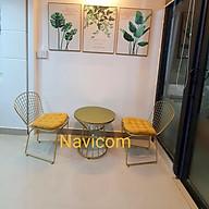 Bộ bàn ghế sân vườn ( phiên bản màu vàng) thumbnail