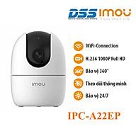 Camera IP Wifi 2MP quay quét thông minh Imou Ranger 2 IPC-A22EP hàng chính hãng DSS Việt Nam thumbnail