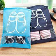 Bộ 3 Túi Đựng Giày Nhỏ Gọn Tiện Dụng Size To thumbnail