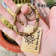 Vòng tay trầm hương phong thủy trụ trúc 9 trụ 9 tròn nam nữ Sơn Mộc Hương từ trầm tốc tự nhiên mang lại may mắn và thành công thumbnail