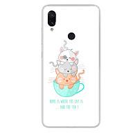 Ốp lưng dẻo cho điện thoại Xiaomi Redmi Note 7 - 0019 CAT&TEA - Hàng Chính Hãng thumbnail