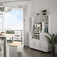 Tủ phòng ăn gỗ hiện đại SMLIFE Deon thumbnail