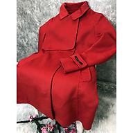Áo dạ dáng dài true red đỏ tươi Kim Hee Sun thương hiệu Joinus Hàn Quốc thumbnail