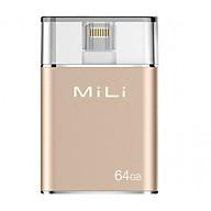 Ổ Cứng Di Động Mili IDATA 64GB USB 3.0 (Vàng) - Hàng Chính Hãng thumbnail