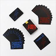 Bộ Bài Tây Poker Nền Đen Cao Cấp Chọn Màu Bài Tây Nhựa PVC Chống Nước Chính Hãng miDoctor thumbnail