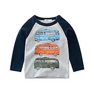 Áo trẻ em nam cho bé từ 10kg đến 30kg vải cotton da cá 100% mềm mại co giản 4 chiều thumbnail