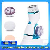 Máy massage và rửa mặt pin sạc AE-8286B 4in1 - Dòng cao cấp thumbnail