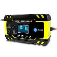 Sạc bình ắc quy 12V 24V 4-150Ah có chức năng khử sunfat phục hồi bảo dưỡng ắc quy thumbnail