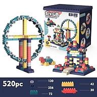 BỘ LEGO 520 CHI TIẾT NHỰA ABS AN TOÀN ĐỒ CHƠI XẾP HÌNH, LẮP RÁP thumbnail