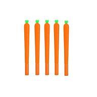Combo 5 cây bút viết mực nước hình carrot độc đáo thumbnail