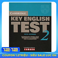 Cam Key English Test 2 with Answers - VN Edition thumbnail