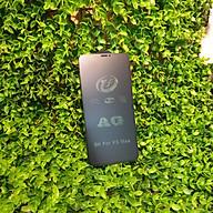 Kính cường lực full màn hình + nhám chống bám vân tay cho Iphone XS Max thumbnail