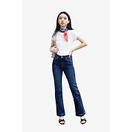 TheBlueTshirt - Power Flare Jeans Dark Blue Wash - Quần Jeans Ống Loe Xanh Đậm thumbnail
