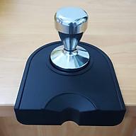 Combo tay nén cà phê Inox và đế lót cao su thumbnail