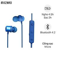 Tai nghe Bluetooth Mozard S205A Xanh - Hàng Chính Hãng thumbnail