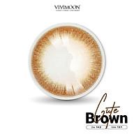 Lens cho mắt thở Hàn Quốc nâu trong VIVIMOON Cute Brown 13.1 mm thumbnail