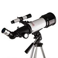 Kính thiên văn cao cấp khám phá thiên nhiên và nghiên cứu thiên văn Gy70400 ( Có giá đỡ dễ dàng đặt ở bất cứ đâu khả năng nhìn tốt, độ phóng đại lớn - Tặng kèm la bàn mini chỉ hướng bằng thép không gỉ ) thumbnail