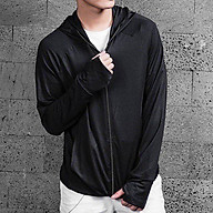 Áo chống nắng CUỘN NAM THIẾT KẾ Tay áo có lỗ xỏ ngón rất tiện lợi cho việc lái xe thumbnail
