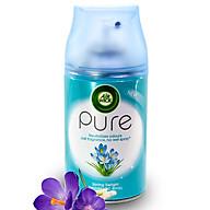 Bình xịt tinh dầu thiên nhiên Air Wick Spring Delight 250ml QT00023 - hoa nghệ tây thumbnail
