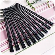 Bộ 10 đôi đũa nhựa phíp- đũa nhíp- đũa nhựa chịu nhiệt thumbnail