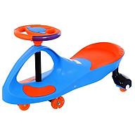 Xe lắc cho trẻ em Broller BABY PLAZA XL-8097C có đèn, nhạc thumbnail