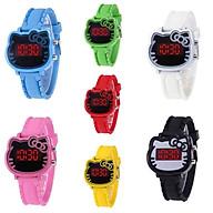 Đồng hồ thời trang trẻ em điện tử led Hello Kitty T474 thumbnail
