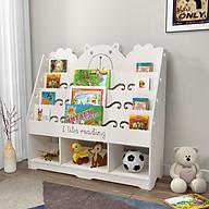 [SIÊU PHẨM] Kệ sách kết hợp kệ dồ chơi cho bé hình gấu nhiều ngăn viiws họa tiết dễ thương TXT09 thumbnail