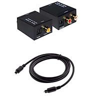 Bộ chuyển đổi tín hiệu Optical To Av tặng kèm dây optical và dây AV thumbnail